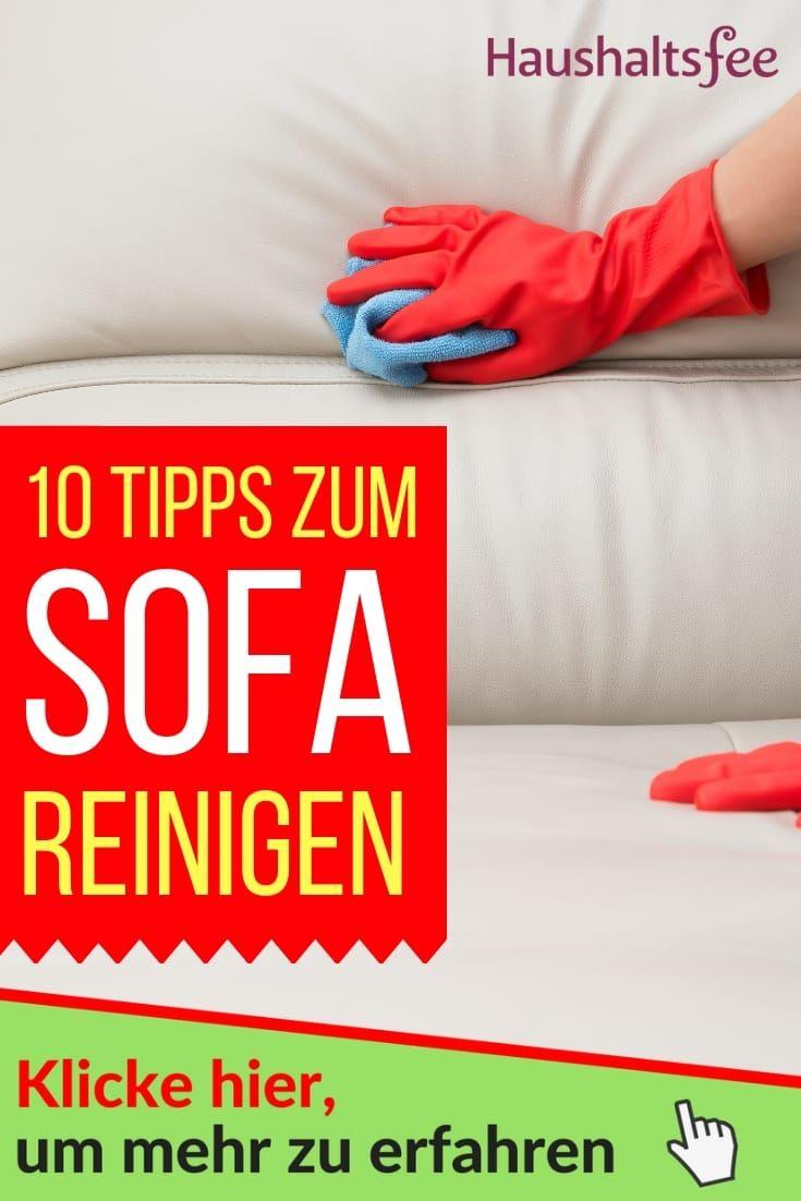 Sofa Reinigen Ganz Einfach Und Schnell Mit Bildern Sofa