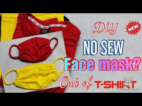 Photo of How to make face mask || NO Sewing machine! Diy face mask