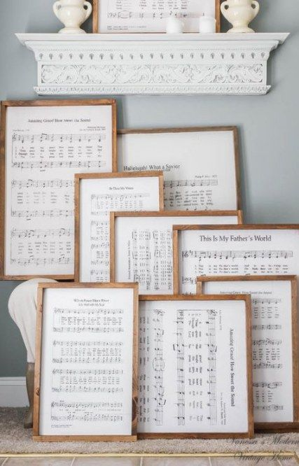 Vintage Paper Wedding Sheet Music 23+ Super Ideas #vintagesheetmusic