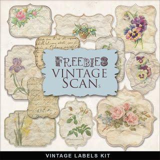 Far Far Hill Vintage Labels Printables Digital Paper Freebie Vintage Labels