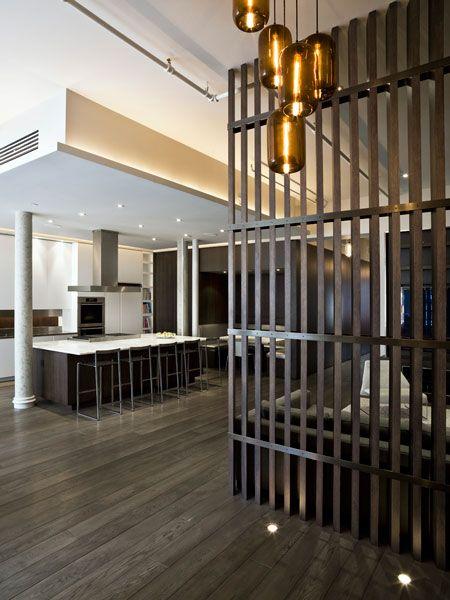 How to separate spaces in a gigantic loft? Interior Design