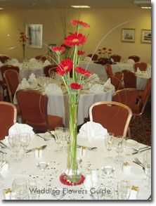 Tall Thin Vase Wedding Flowers Ideas Happily Ever After In