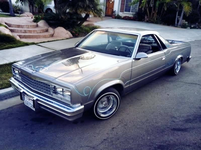 El Camino Man I Can T Wait Until My Baby Is As Pretty As This One Custom Cars Paint Lowriders Old School Cars