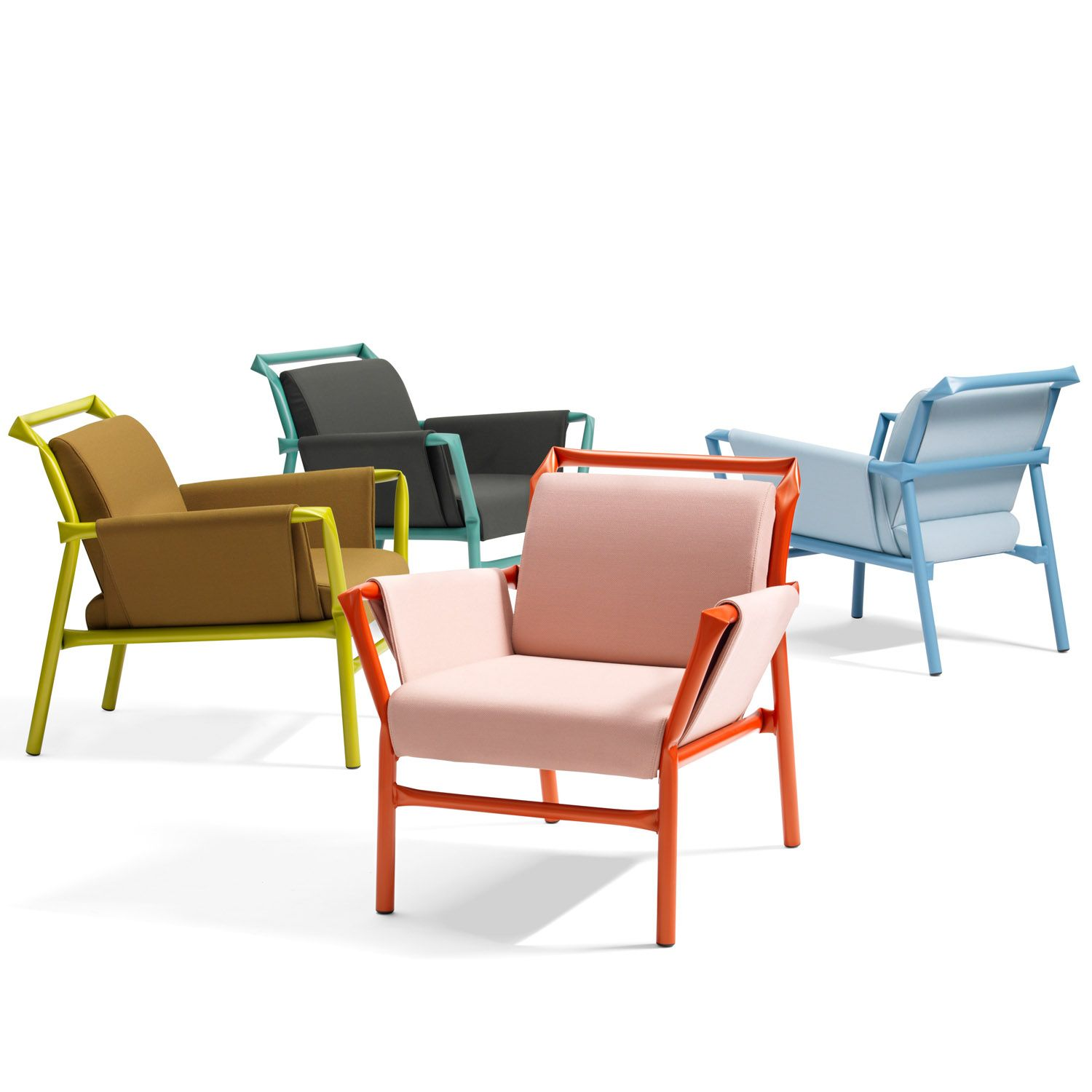 Superkink S7 Armchair is an easy chair for lounges, reception and