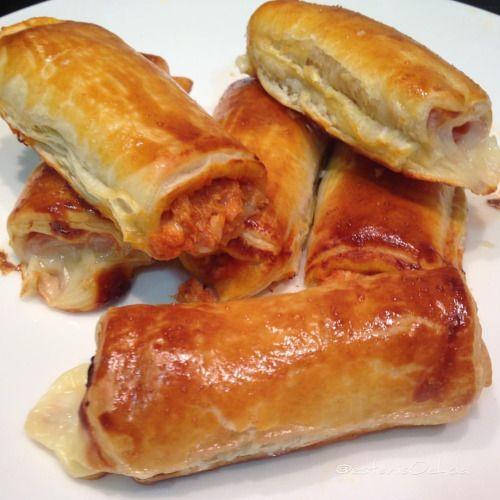 #napolitanas de #pavo #queso y #bonito #tomate ...
