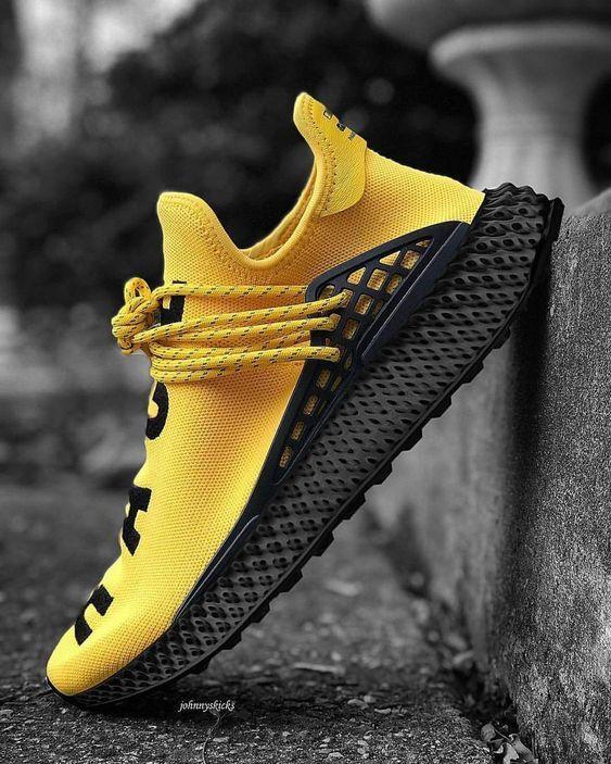New Human Race Adidas Hu Yellow Pw Sneakers Online Sneakers Fashion Shoes Sport Men Woman Adidas Shoes Yeezy Sneakers Men Fashion Sneakers Fashion