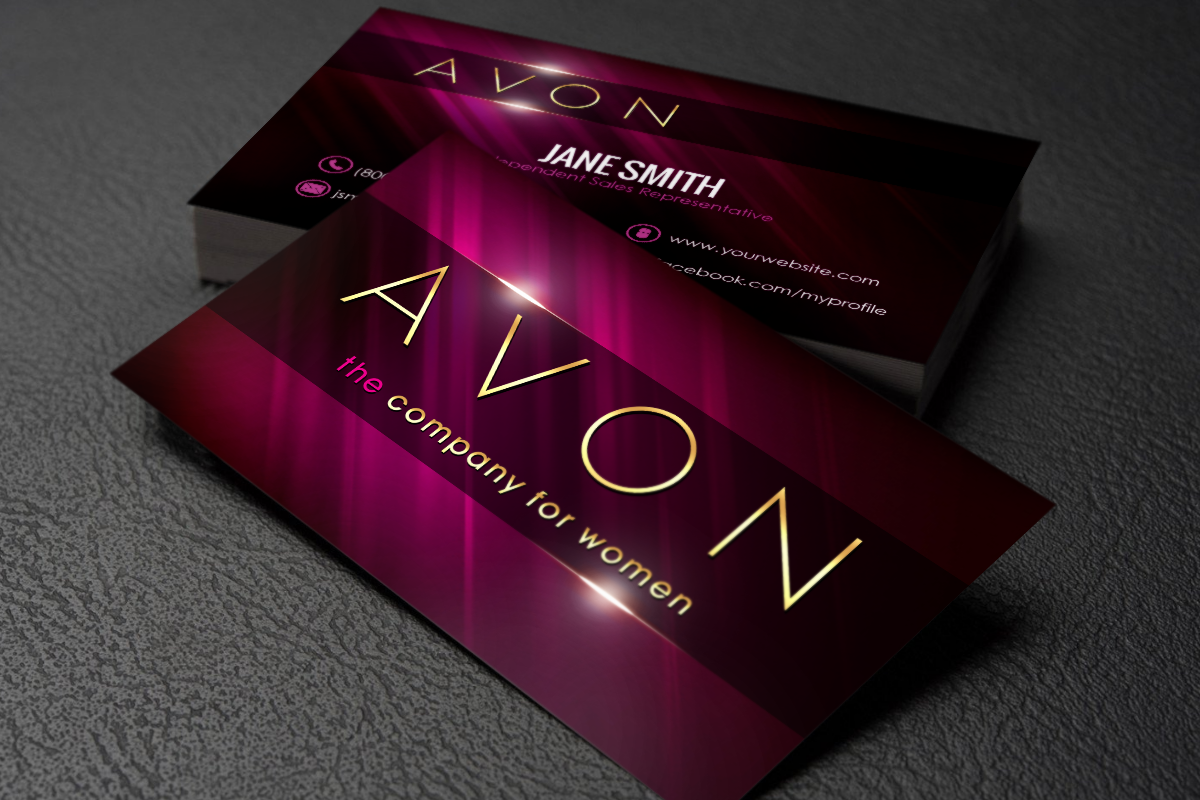Avon Business Cards Free Shipping Avon business