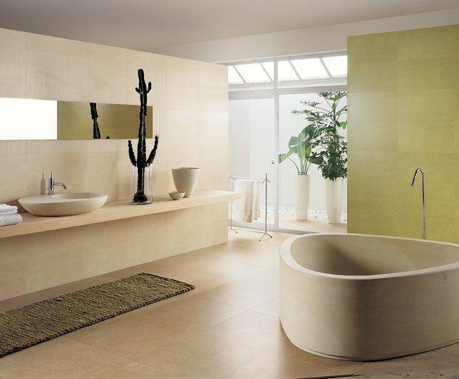 Photo Deco : Salle de bains Grège Zen Visuels Salle De Bains ...