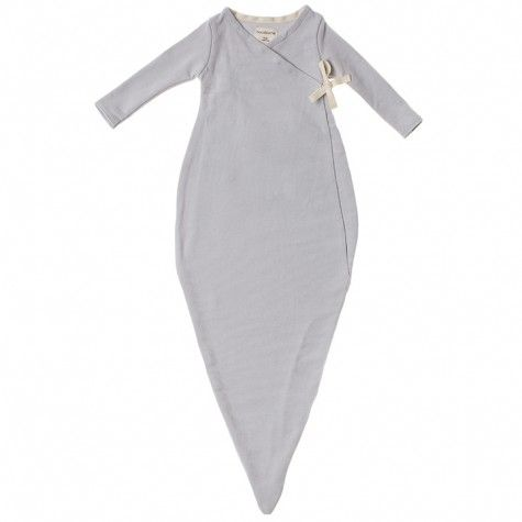 4d81a7fa48ce french terry kimono baby gown (dove)