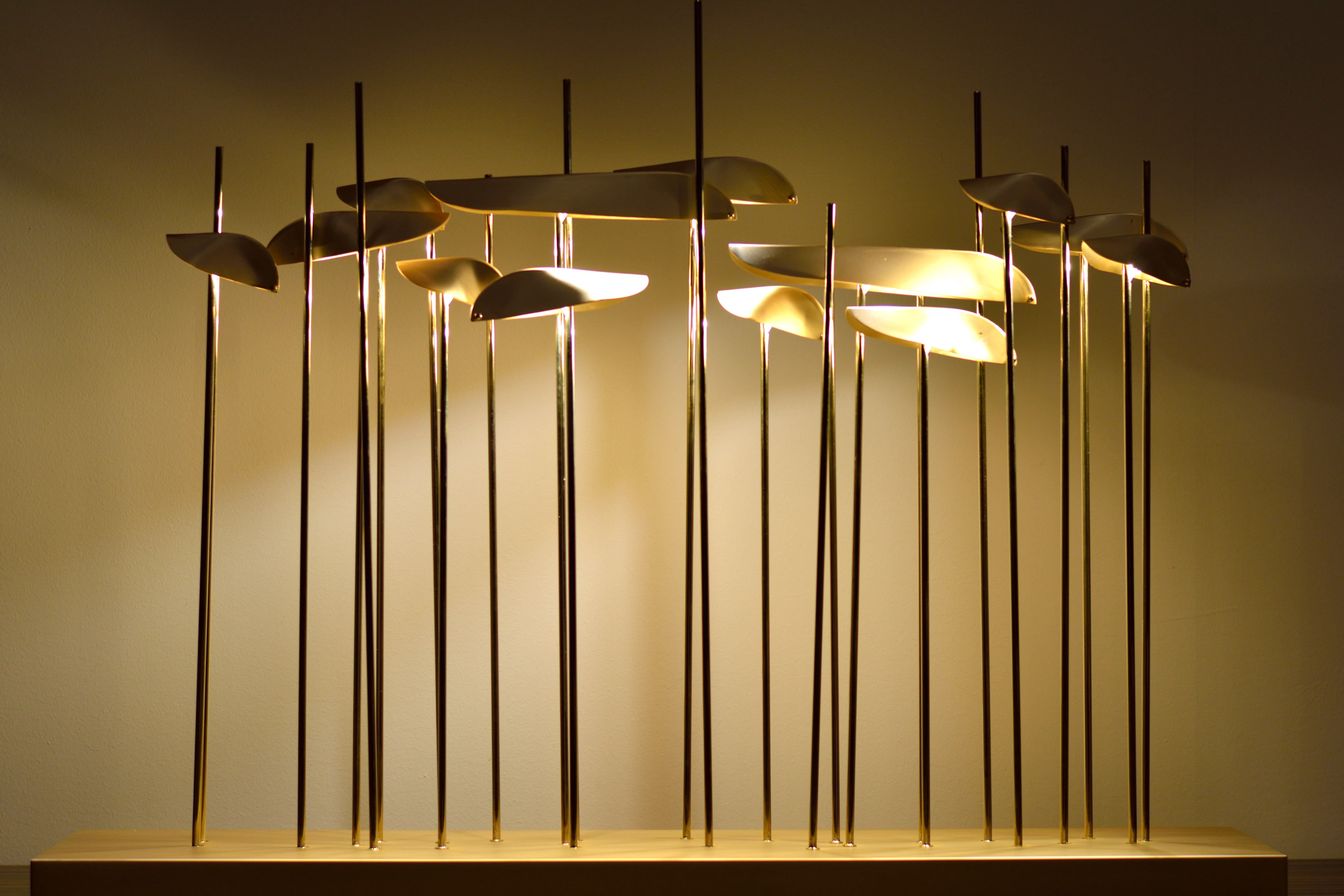 Artistic lamp made in brass, ANODINE | - Paolo Castelli | LIGHTING ...