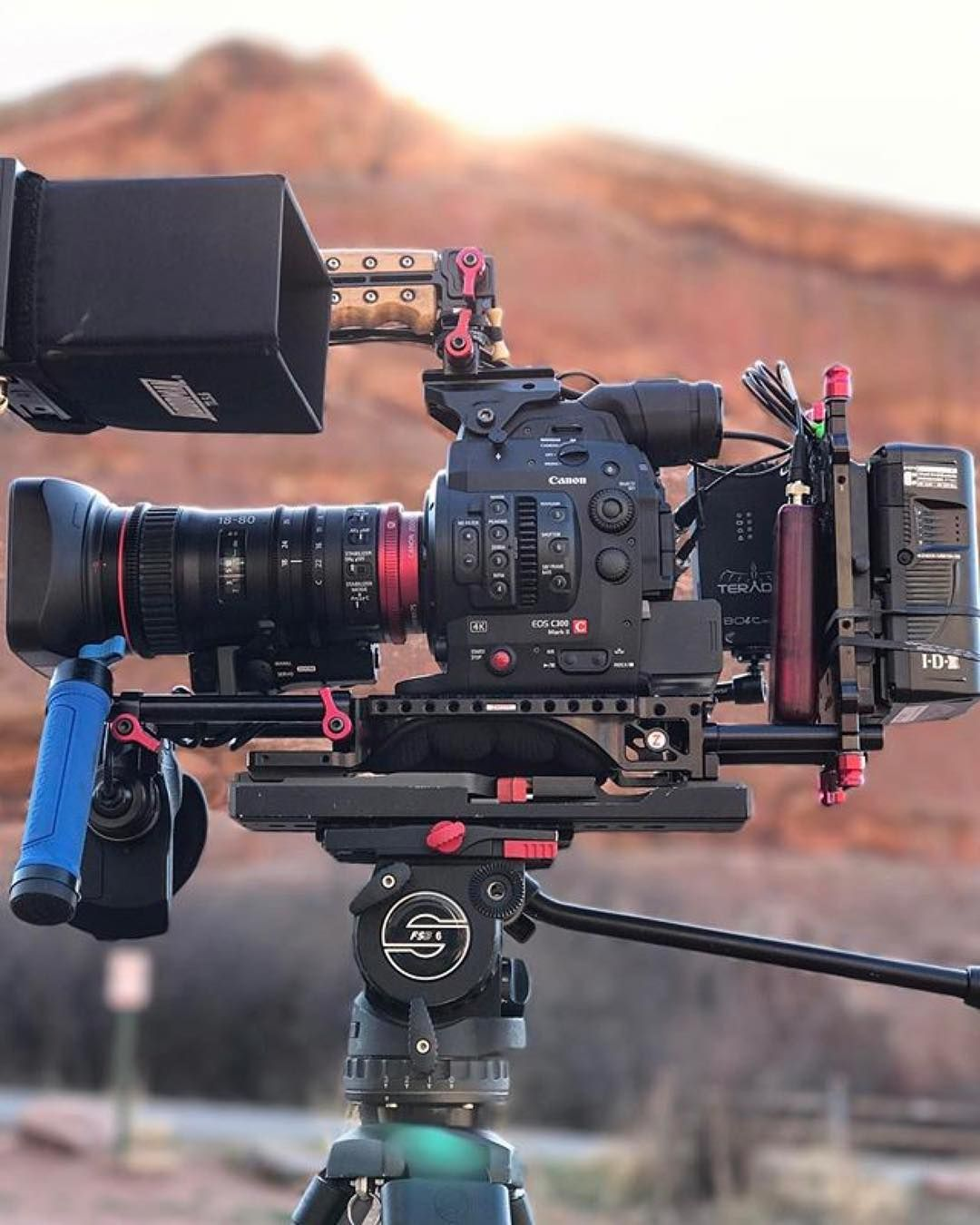 Sweet Canon C300 Mark II rig  What would you film with this