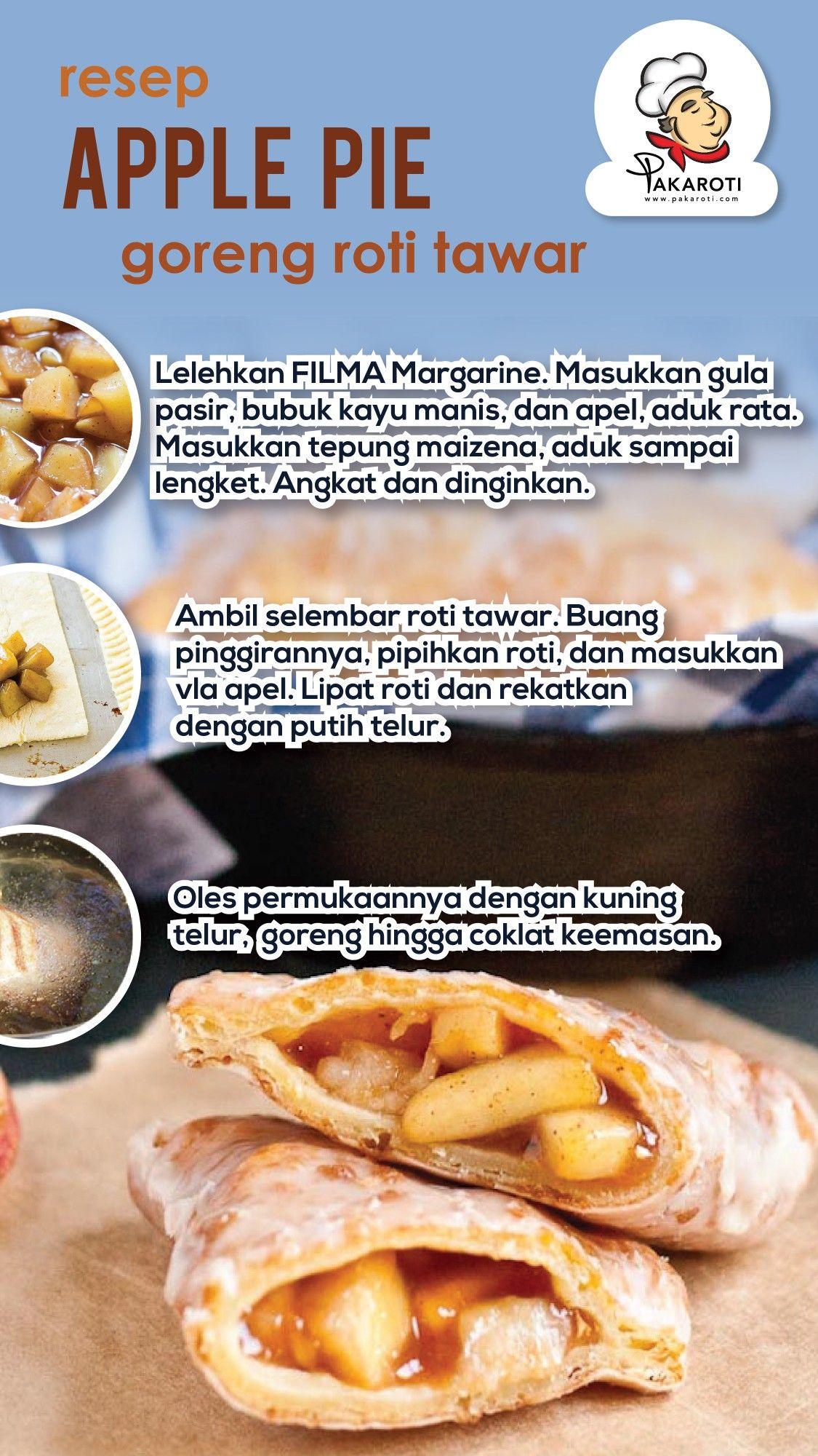 Resep Apple Pie Goreng Roti Tawar Resep Masakan Natal Ide Makanan Resep Makanan