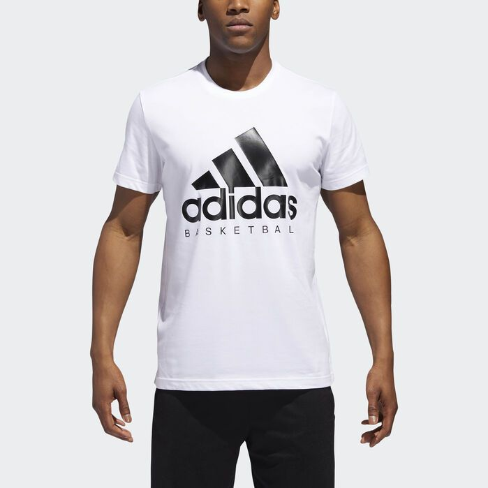 Herren Adidas Performance T Shirt Weiß Neu Top Shirts