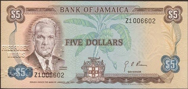 Jamaica Foreign Exchange Market Michael Manley I Think With