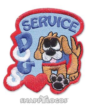 Service Dogs Fun Patch Service Dog Patches Service Dogs Dog Patch