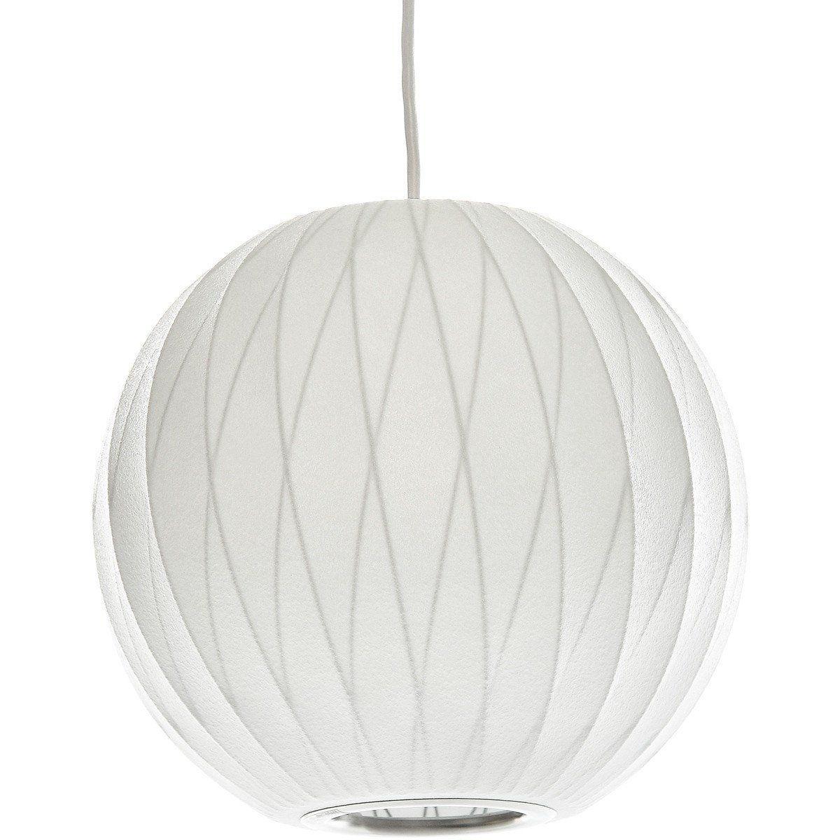 Replica Nelson Bubble Lamp Ball Pendant Light White