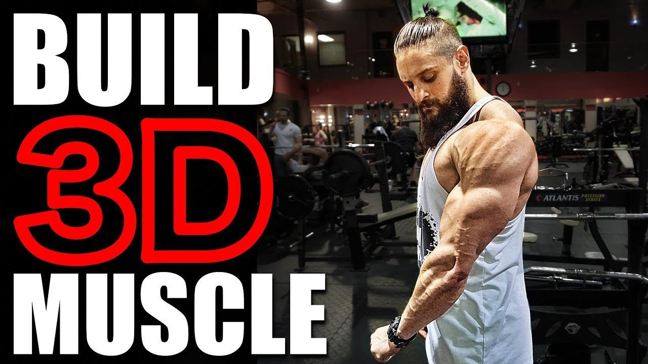 Most Effective Full Muscle Building Workout Biceps Shoulders Quads Day 5 Lex Fitness Youtube Muscle Building Workouts Biceps Build Muscle