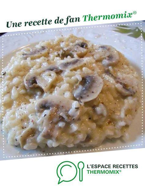 Risotto aux champignons de Paris