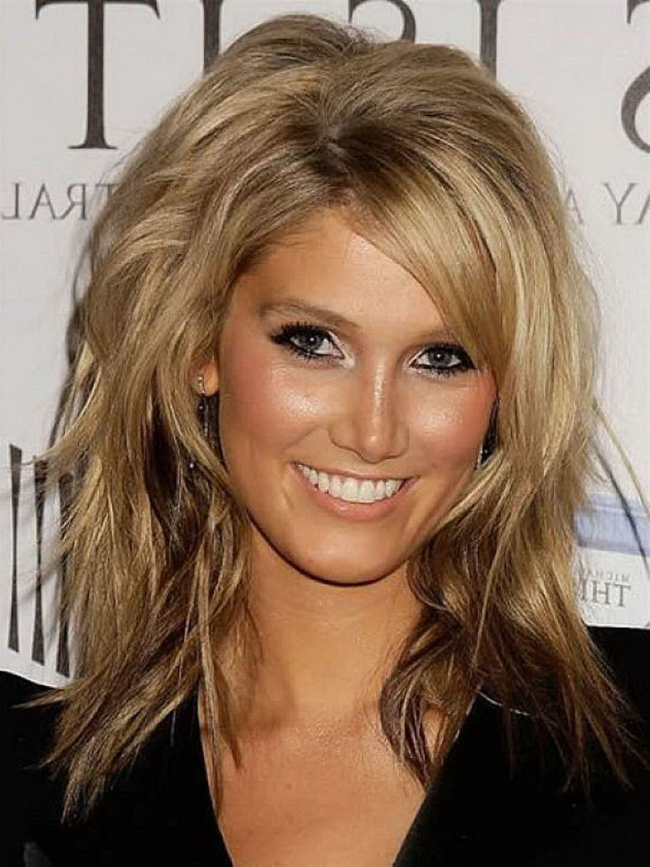 and layered hair black Blonde