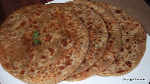Aloo Paratha   Potato Stuffed Indian Flat Bread   Food Gallery