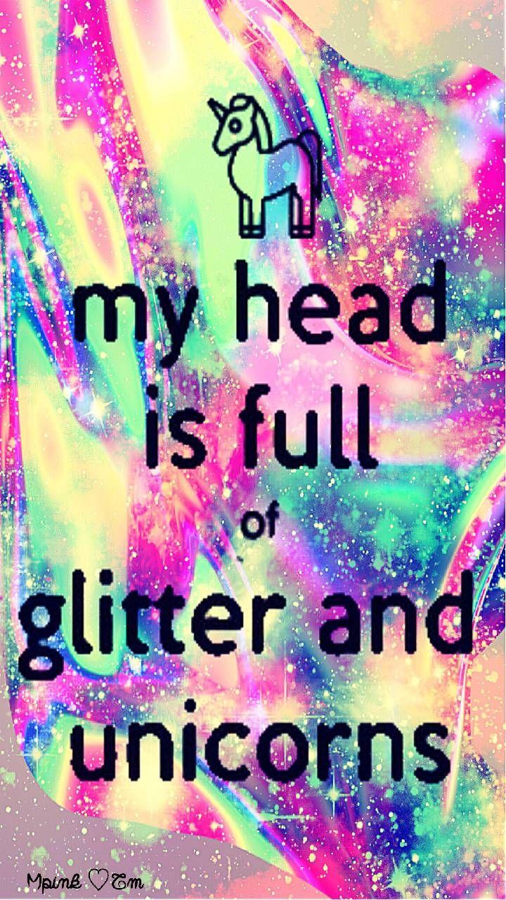 My Head Is Full Of Glitter Galaxy Wallpaper # ...