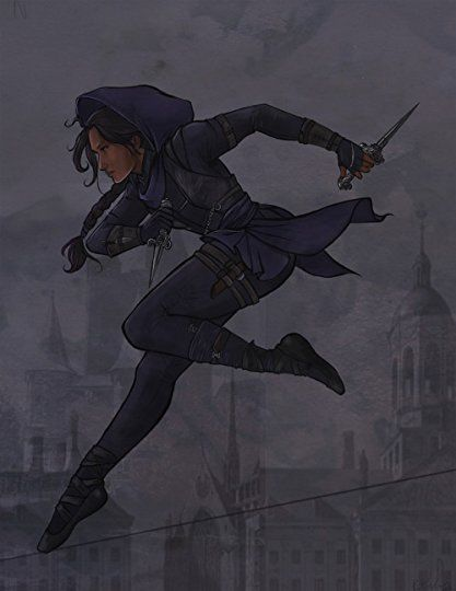Photo of Leigh Bardugo's Blog – ratgirlstudios:Inej Ghafa from Six of Crows/ Crooked Kingdom by… – May 06, 2018 20:21