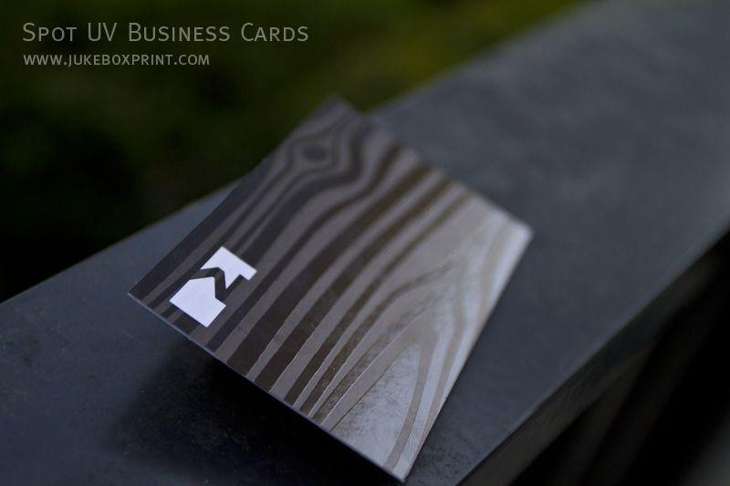 Spot Uv Business Cards Jukebox Print Spot Uv Business Cards Business Card Pattern Business Card Inspiration