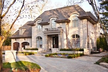French Chateau - traditional - exterior - toronto - David Small ...