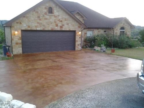 rustic concrete acid stain reviews eagle the wash colors cost of patio washed floors pictures