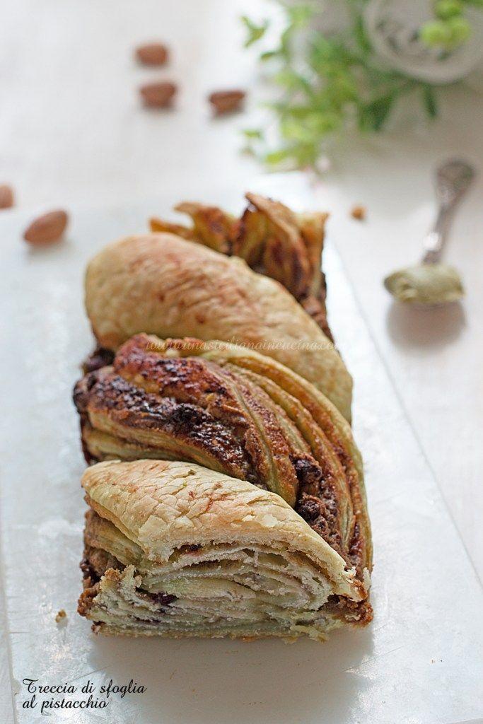 Photo of Treccia di sfoglia al pistacchio-Una siciliana in cucina