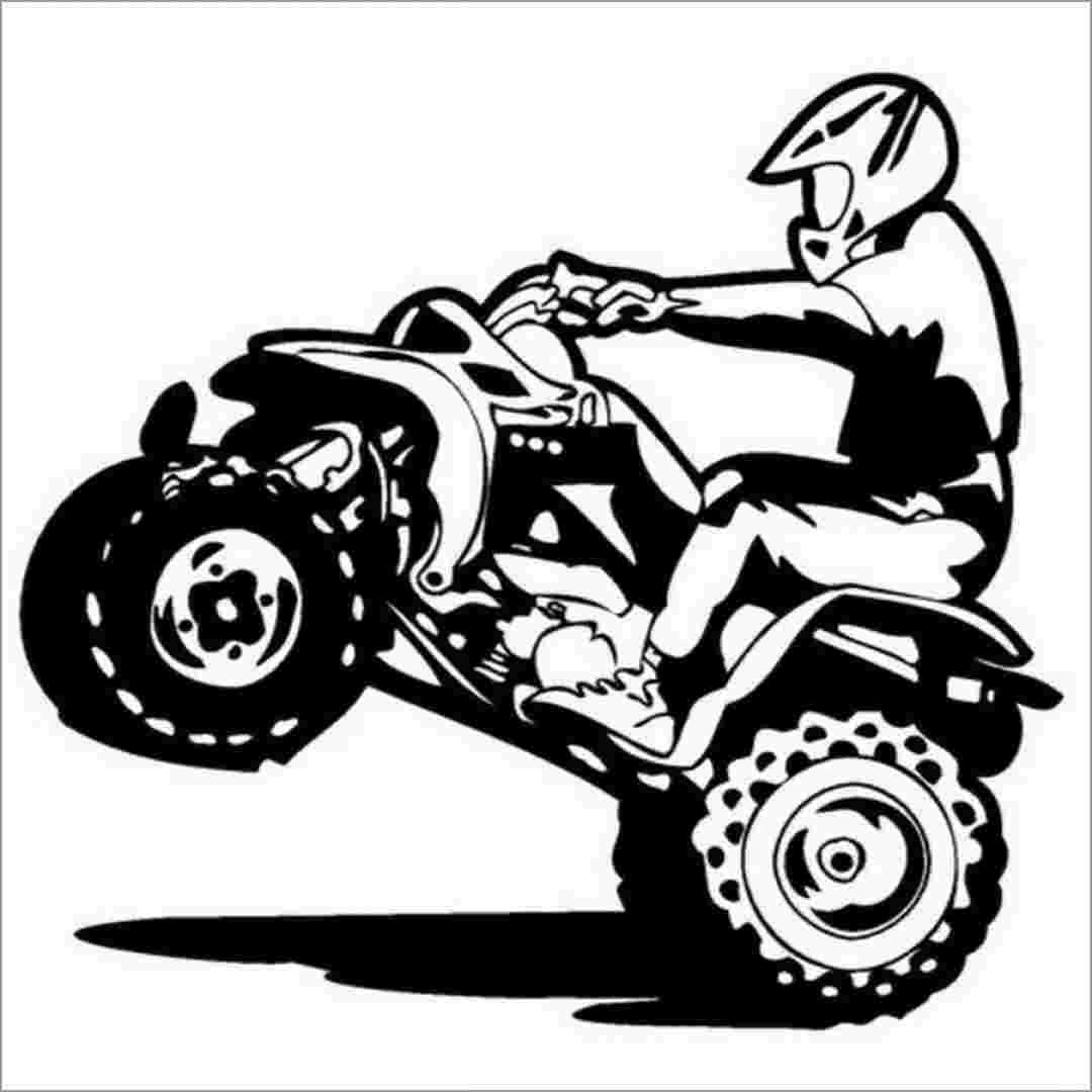 Coloring Festival Atv Four Wheeler Coloring Pages More Than 48