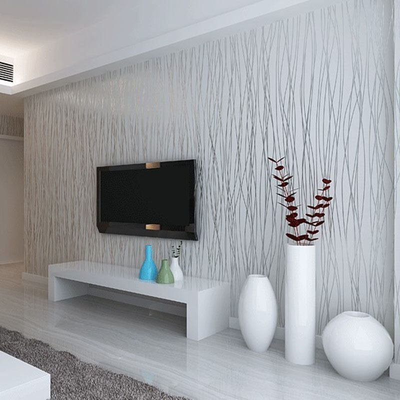 Grey Striped Wallpaper Bedroom Ideas Silver Wallpaper Living Room Wallpaper Living Room Striped Wallpaper Living Room