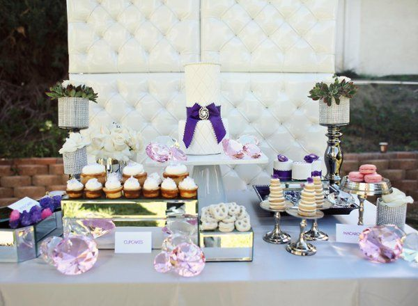 Blinged Candy buffet table...