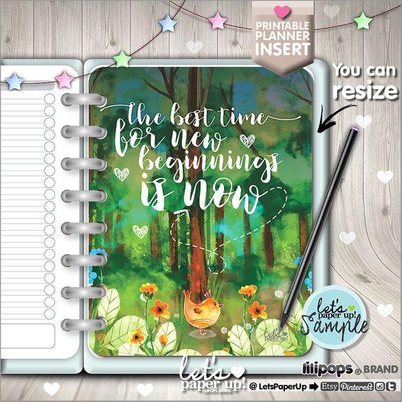 Planner Insert, Printable Planner Insert, Planner Divider, Planner Quotes, Erin Condren, Planner Dashboard, Kawaii Planner, Divider, Cover