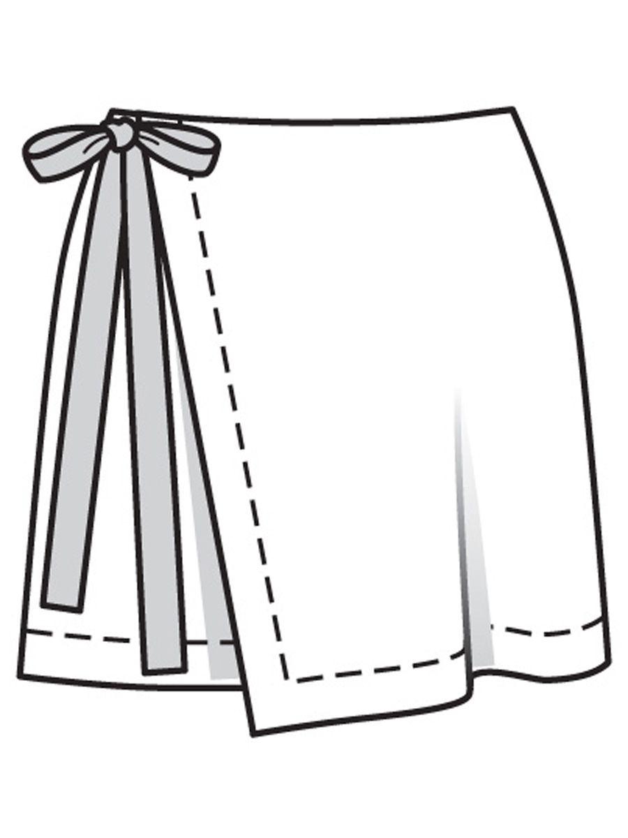 Как быстро сшить юбку на запах фото 115