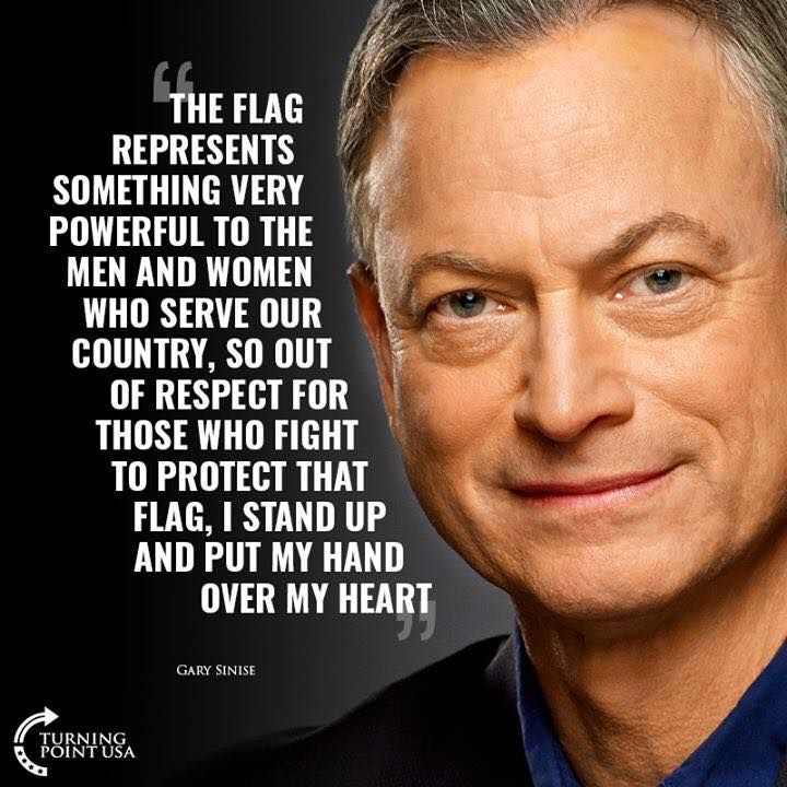 God Bless Gary Sinise A True Patriot Patriotic Quotes Devotional Quotes I Love America