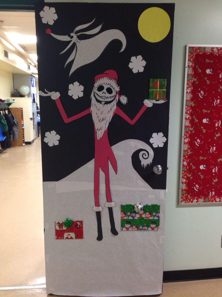 Nightmare Before Christmas door | Jack Skellington ...