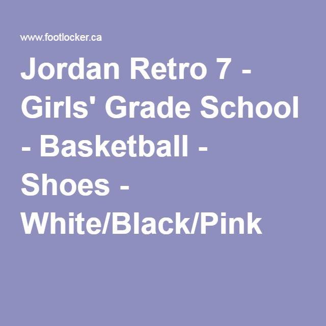 Jordan Retro 7 - Girls  Grade School - Basketball - Shoes - White ... 334c50c1d
