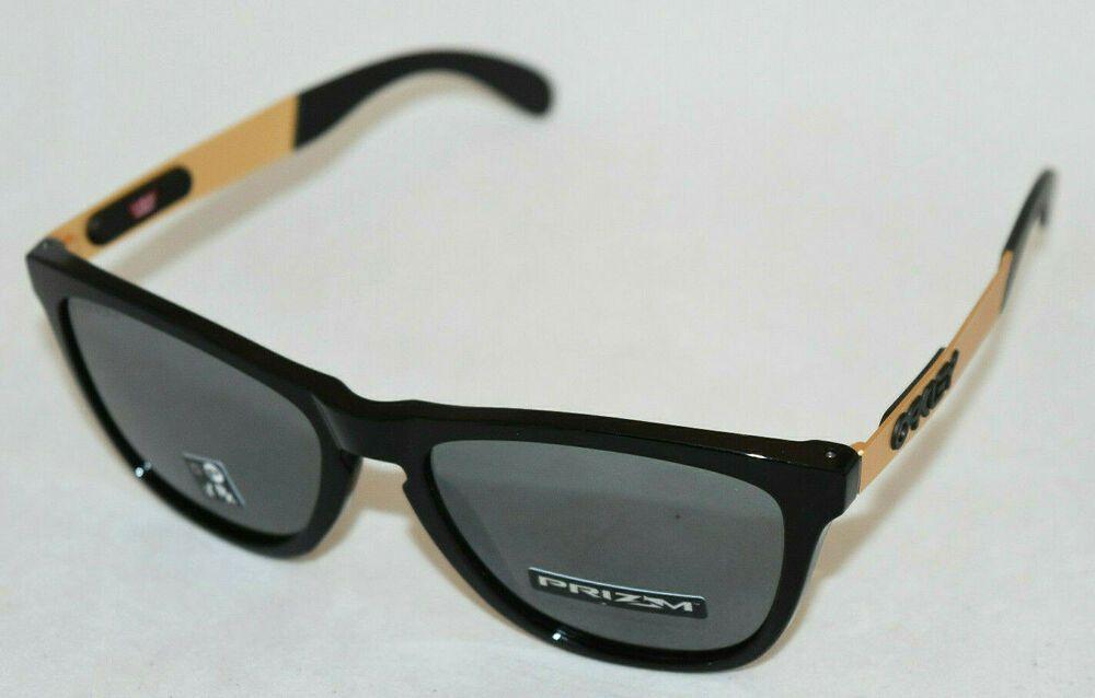 8a65cb8142 eBay #Sponsored NEW IN BOX OAKLEY FROGSKINS MIX OO9428-0255 BLACK W/ PRIZM BLACK  IRIDIUM LENS