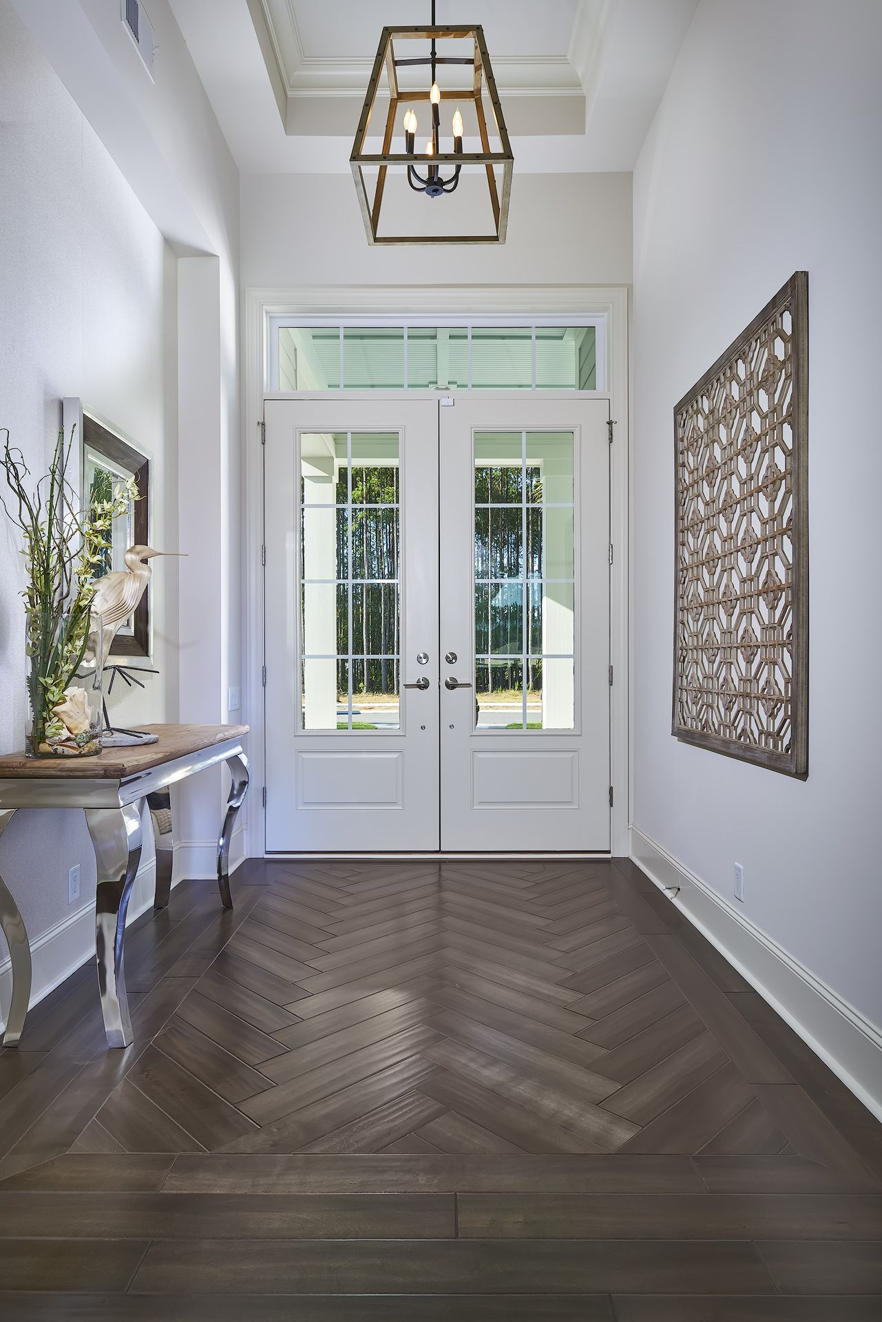 Entry Way Of The Ashley Model By Arthur Rutenberg Homes Model Is