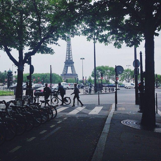 Picturesque Paris #eiffeltower #paris
