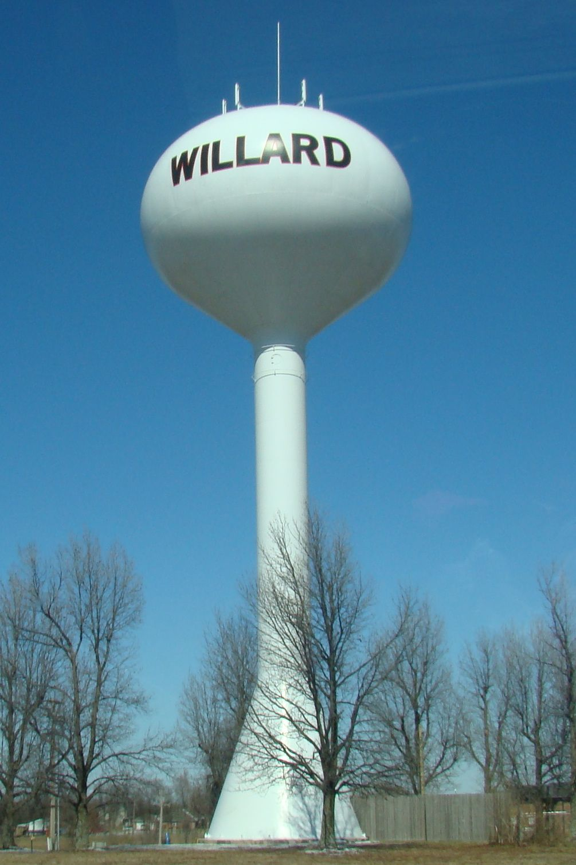 Willard Missouri Water Tower Tower Water