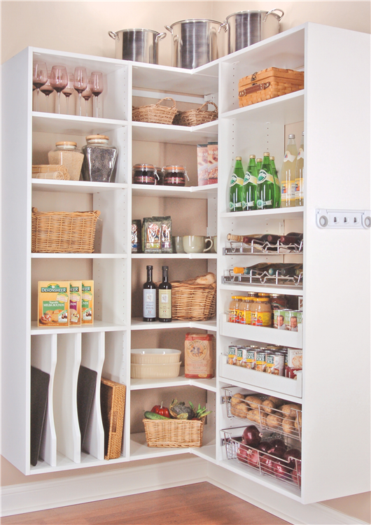 Closet Works Chicago Kitchen Pantry Shelving Systems Wood Pantry Drawers Pullout Shelves Pantry Shelving Pantry Design Kitchen Pantry Design