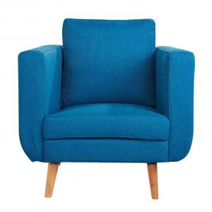 Billy Armchair in Turquoise