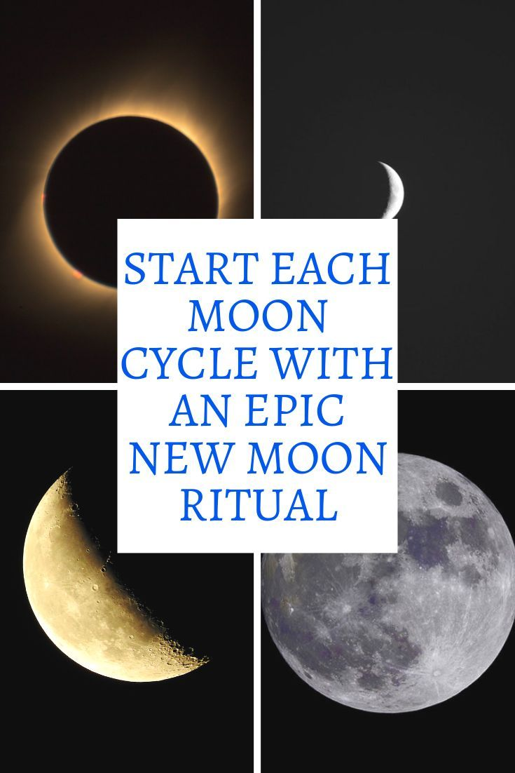 10 Ritual Ideas for the New Moon #newmoonritual
