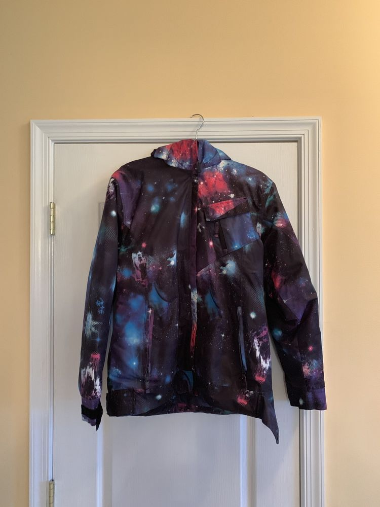 Girls Powder Room Galaxy Winter Jacket Size Youth Xl Fashion