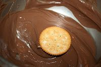 Deep South Dish: Ritz Cracker Thin Mint Cookies