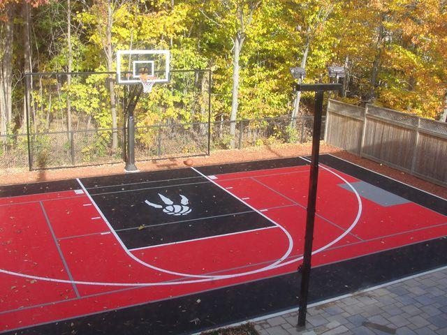 Outdoor Courts Sports Flooring Greater Toronto Area In 2020 Basketball Court Backyard Backyard Basketball Outdoor Basketball Court