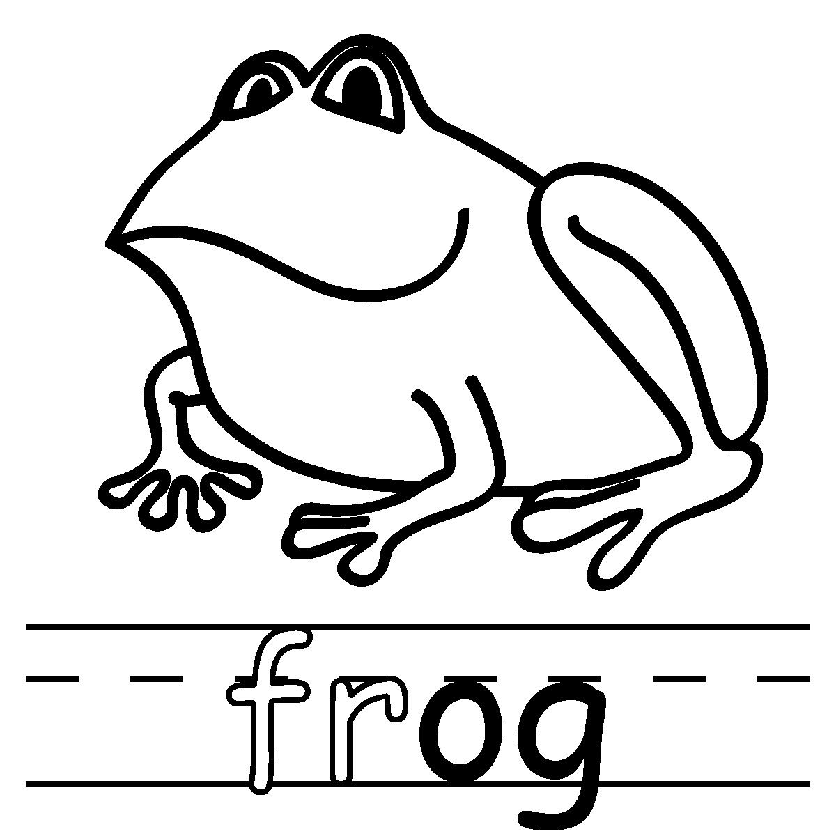 Google Image Result For Http Www Abcteach Com Free F Frogphonicsbnwlabeled Jp Phonics Phonics Printables Coloring Pages