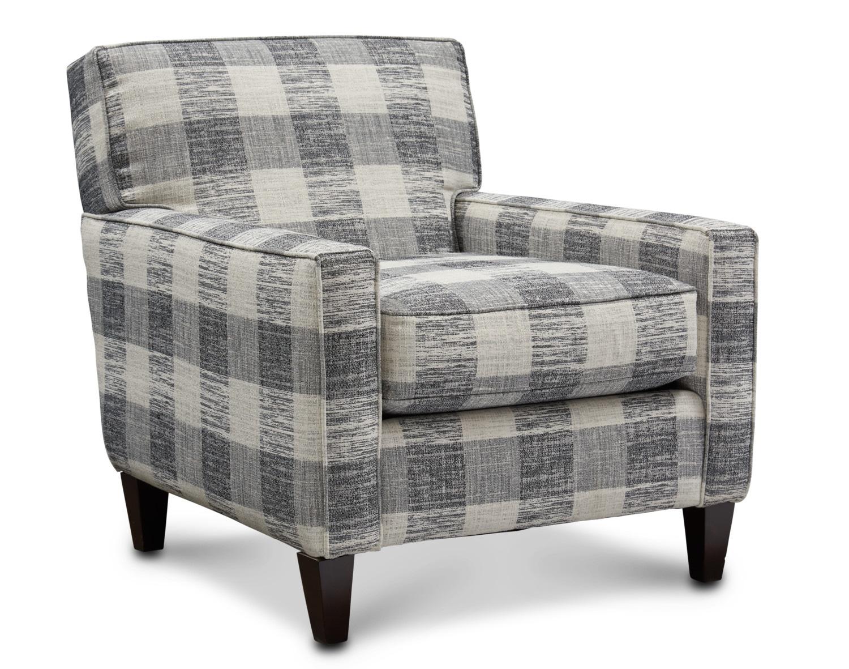 Garrett Accent Chair White Furniture Living Room Value City